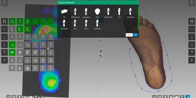 Voxelcare online custom made orthotics design software
