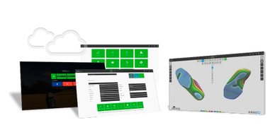 Voxelcare custom made orthotics designing software