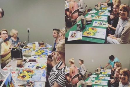 Ladies Night out Paint class