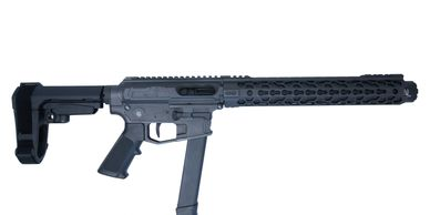 Delta S DS9K, integrally suppressed, 9mm, 9x19, mp5, suppressed 9mm, 9mm carbine, side charge