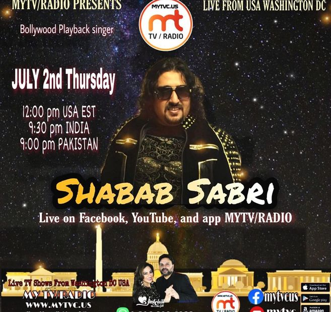Shabab Sabri live from Washington DC USA