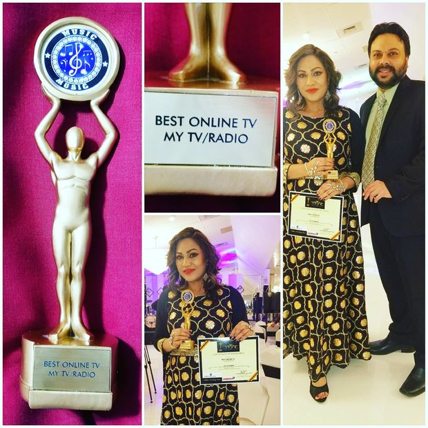 MYTV/RADIO Received Best ONLINE TV AWARD thanks IFAB Music Awards for appreciating best of best. #IF