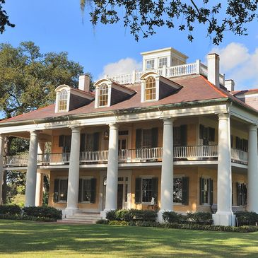 Baton Rouge Plantation Tours, Plantation Tours, Bus Tours to Plantations