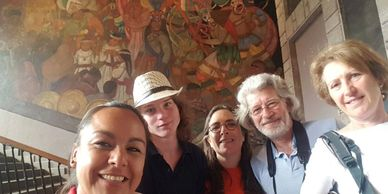 Mexico Murals, Diego Rivera, National Palace, San Ildefonso, Mexican Muralism, Muralist Art Tour