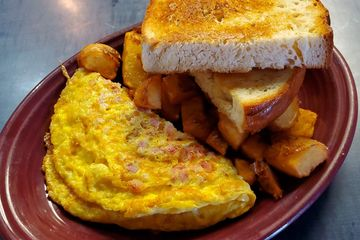 Ham & Two Cheese Omelet