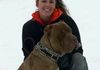 "Lindsay and Achilles ""Love this handsome boy! Hes taught me a lot over the years"""