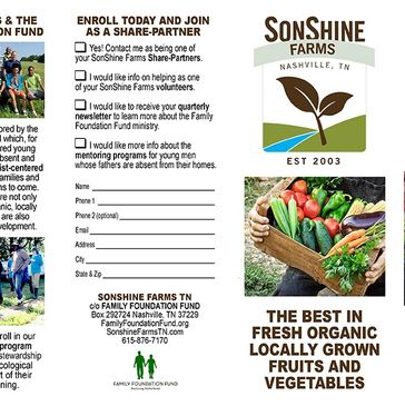 SonShine Farms Brochure page 2