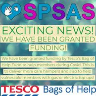 SPSAS Tesco bags of help funding