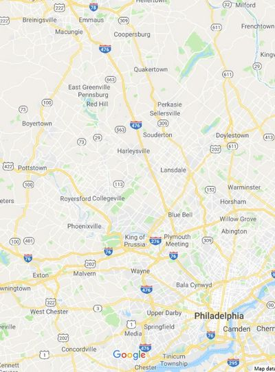 Animal Management Southeastern PA Coverage Area - Philadelphia, Bucks, Montgomery, Delaware, Lehigh & Chester Counties