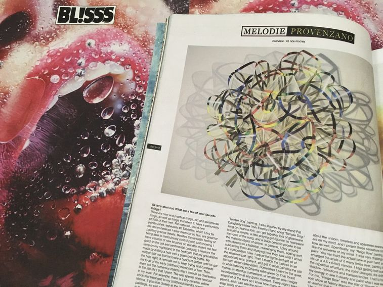 Marilyn Minter artist interview blisss magazine liz rice mccray painting still life artwork surfing