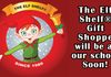 "The Elf Shelf Holiday Store - Banner ""Will Be at our School Soon"""