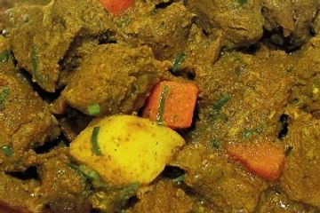 Golden Krust Port Charlotte marinate Goat meat in curry & other Caribbean spices.