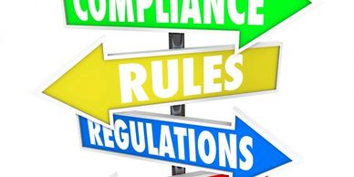 Compliance rules and regulations