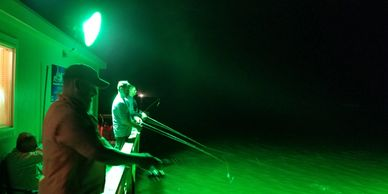 Laguna Adventures Floating cabin night fishing, Trout, All-inclusive fishing trips, Fishing guide