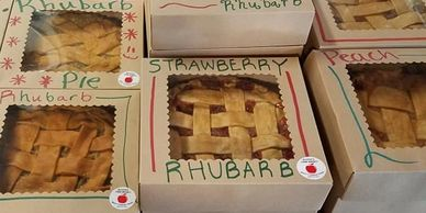 fresh pies and baked goods