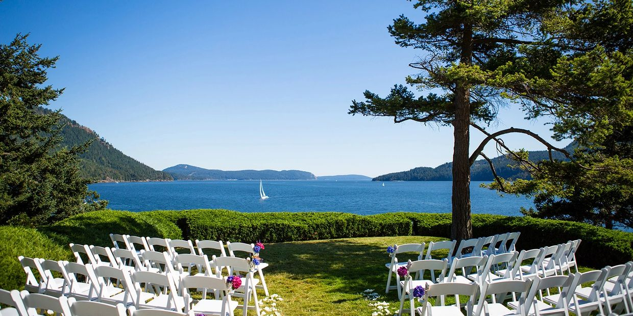 Image of Rosario Resort Orcas Island Didier Gincig Wedding Officiant  Orcas Island  Weddings