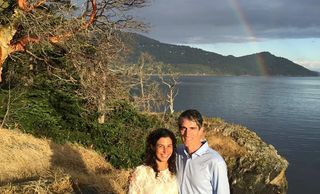 Rainbow wedding Orcas Island Honeymoon and Elopement Packages