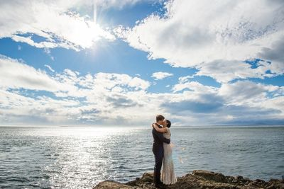 Orcas Island  San Juan Island Weddings Didier Gincig Wedding Officiant Robert Harrison Photography