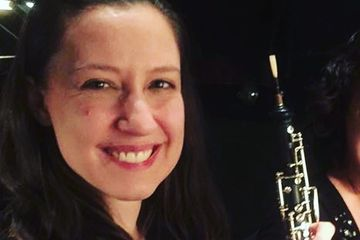 Diana Dunn enjoys a varied career playing and teaching the oboe and English horn. She is the Princip