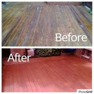 wood deck stripping & refinishing