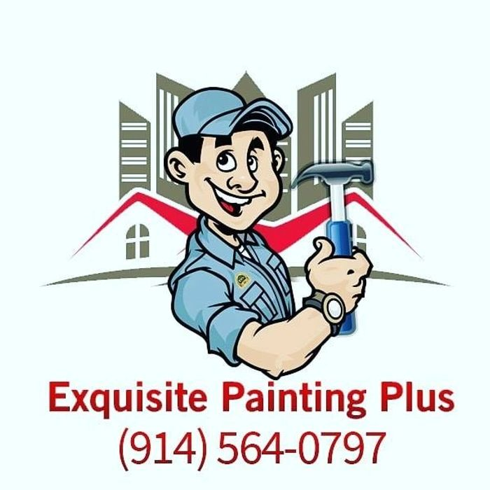 exquisite painting plus logo and phone number