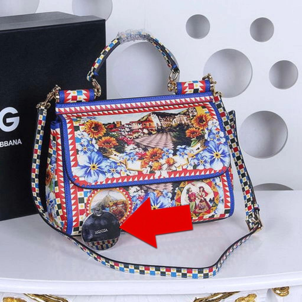 Real DOLCE   GABBANA Miss Sicily handbag would always have