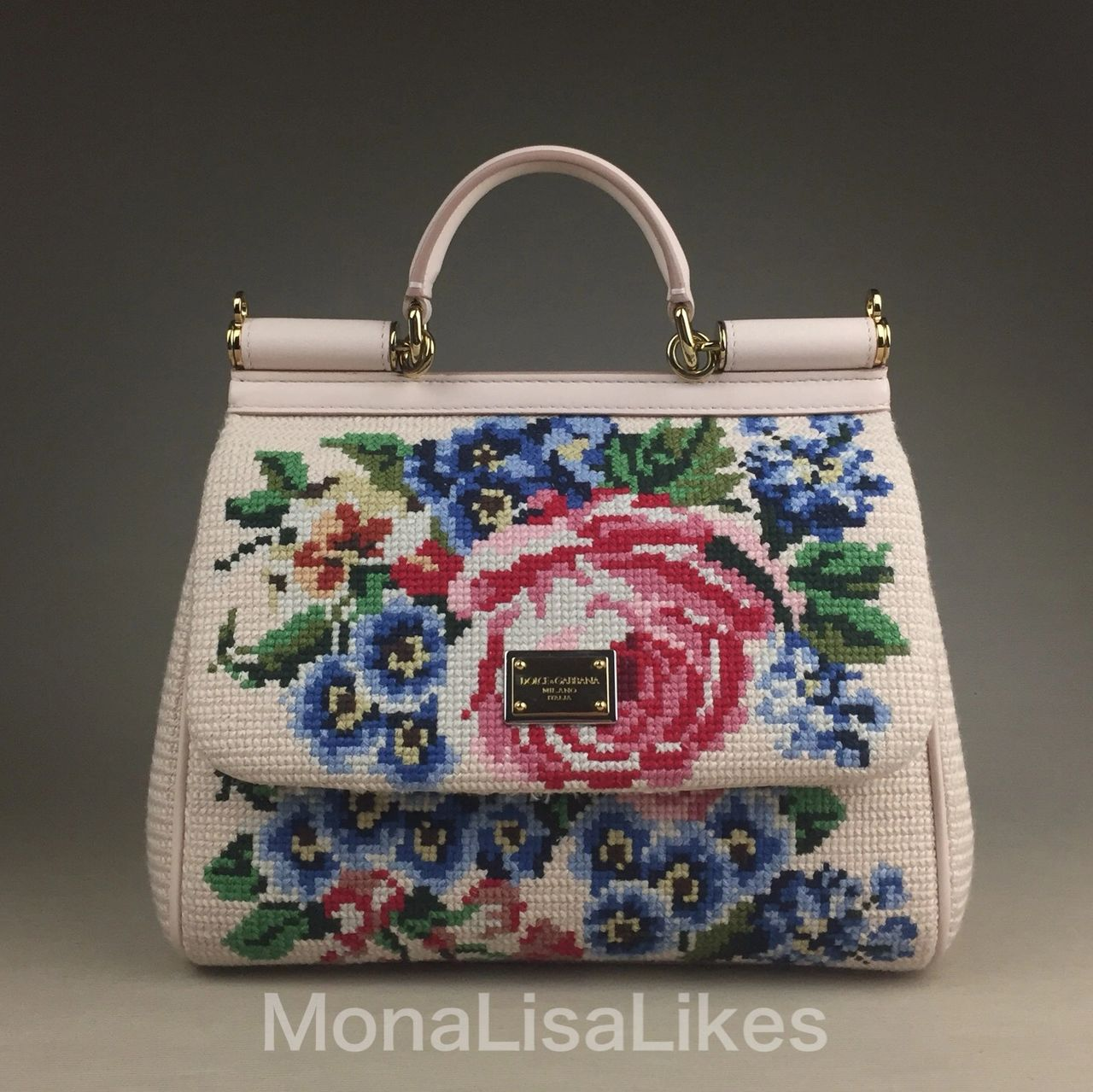 DOLCE & GABBANA Miss Sicily hand embroidered bag was retailed for over $4500 and still remains one of the most wanted by collectors