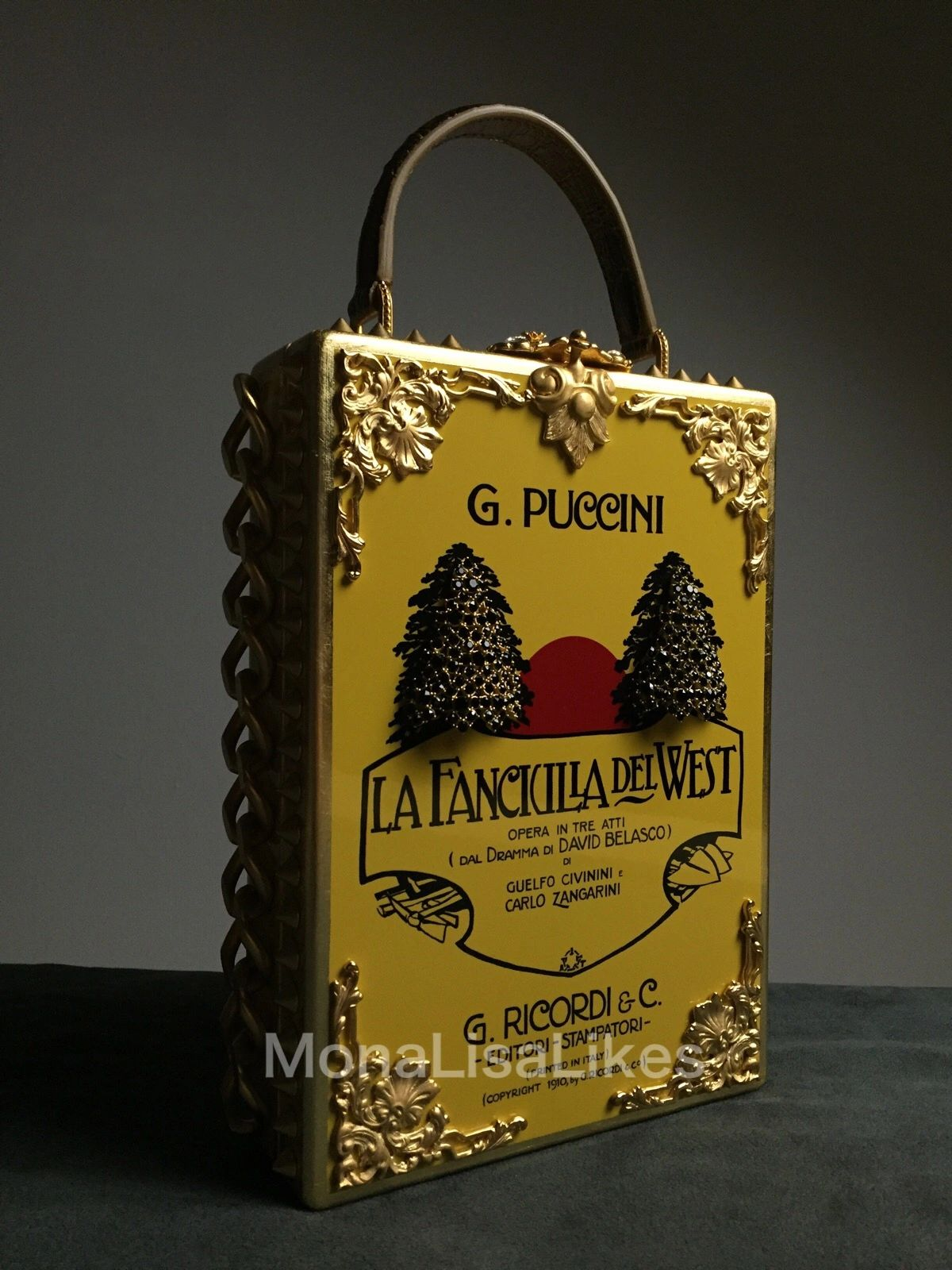 386c3b9c0f DOLCE   GABBANA Puccini Poster Box Bag from ALTA MODA collection was never  sold in stores