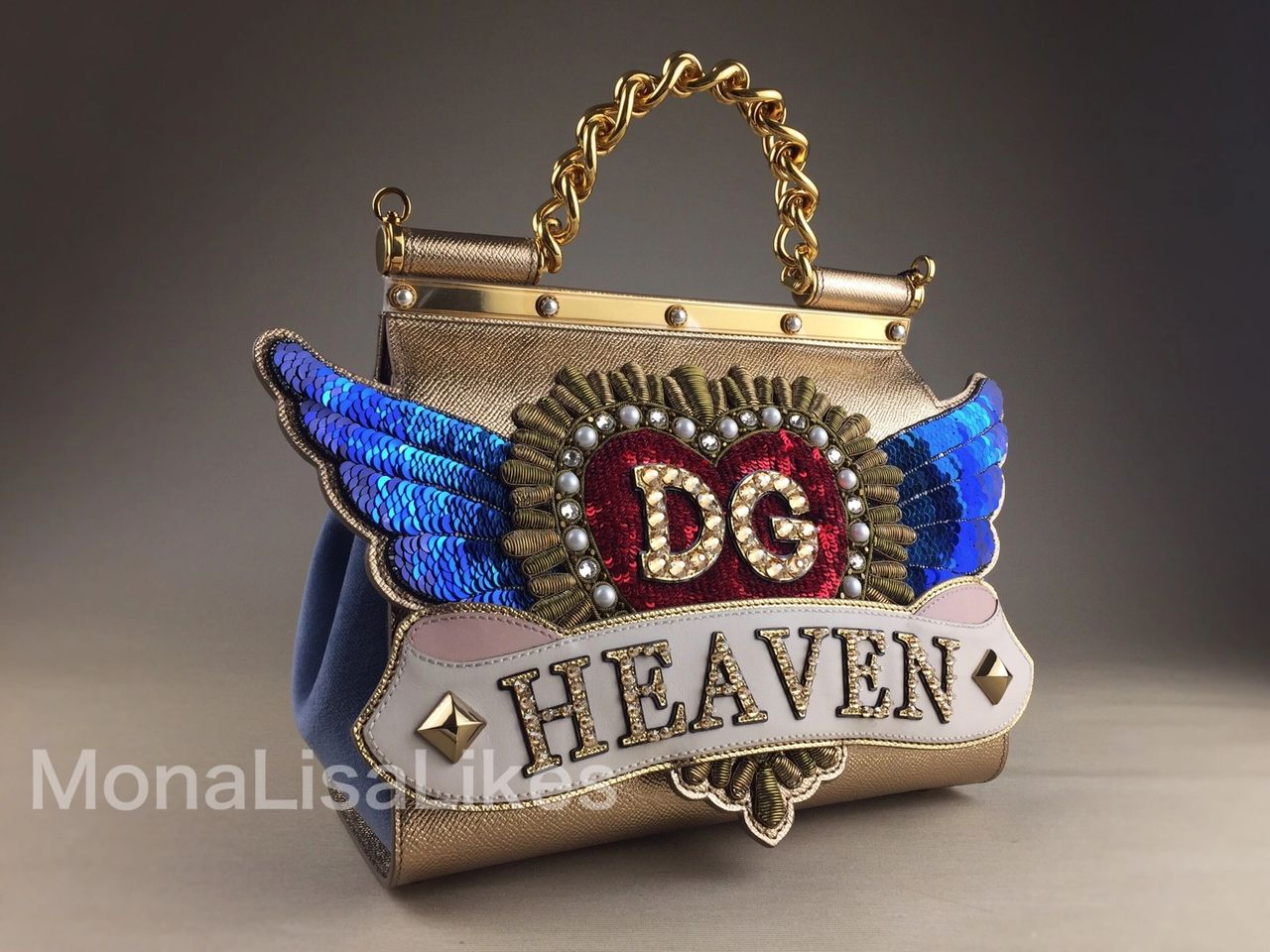 DOLCE & GABBANA Miss Sicily DG Heaven bag fom Fall-Winter 2018-2019 Collection