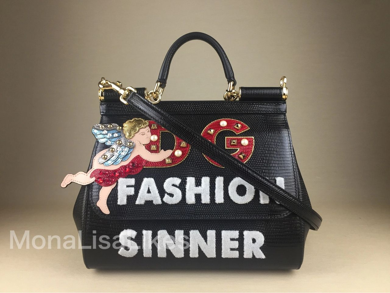 DOLCE & GABBANA Miss Sicily Fashion Sinnr bag from Fall Winter 2018-2019 bag