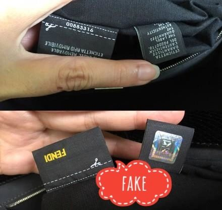 8cbc0db7d486 Authentic FENDI handbag depending on the year should have either RFID tag