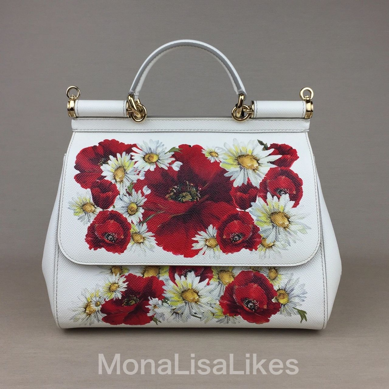 DOLCE & GABBANA Miss Sicily purse in poppy print