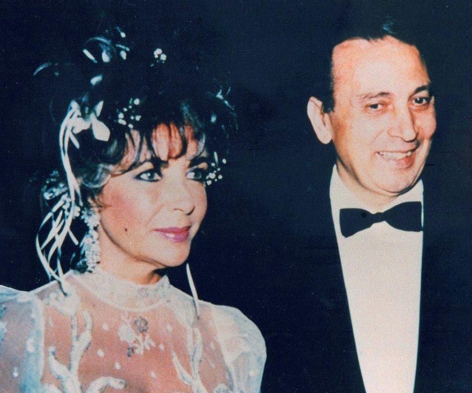 Pratesi with Elizabeth Taylor