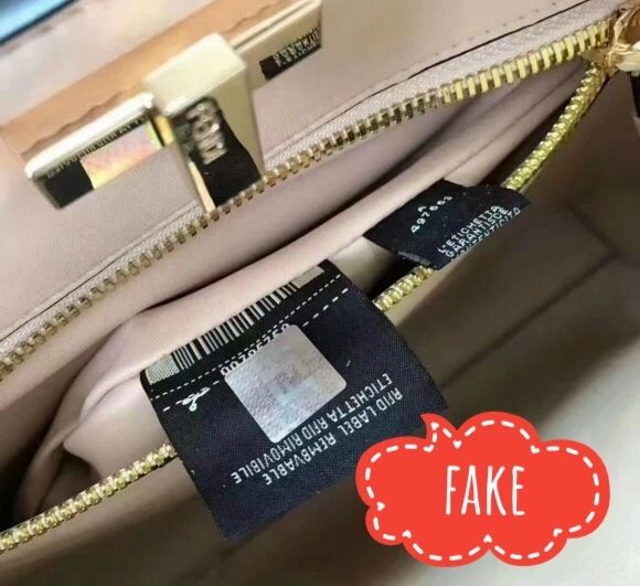 Some replicators put holograms directly on FENDI RFID tag