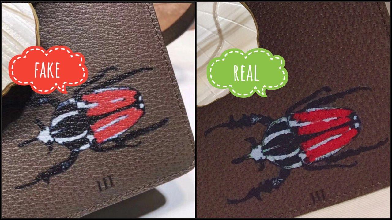 gucci Beetle print