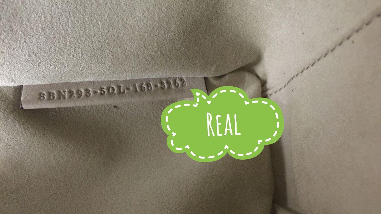 Serial number of authentic FENDI bag