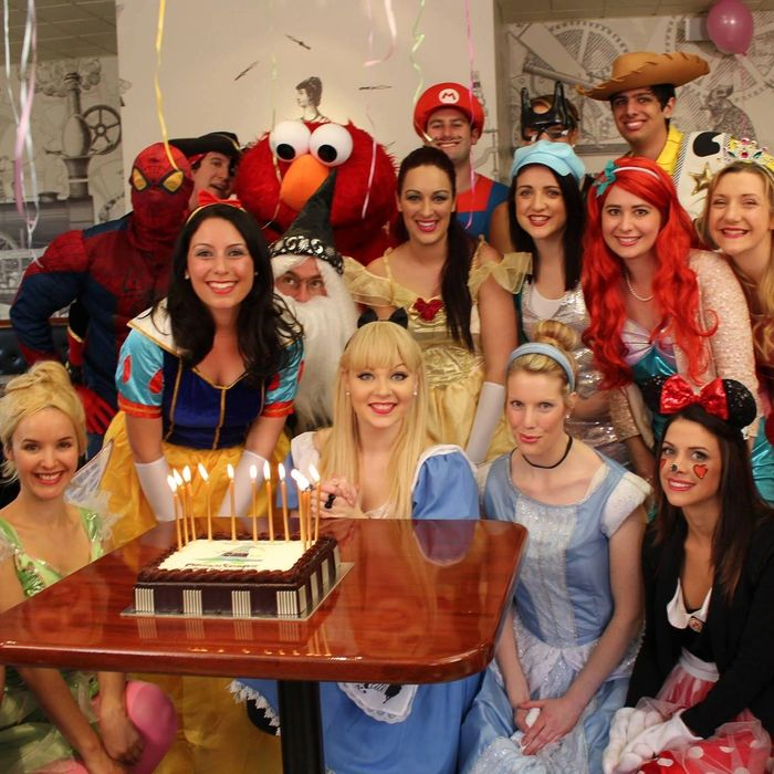 Bespoke, personalised kids' parties London and Essex