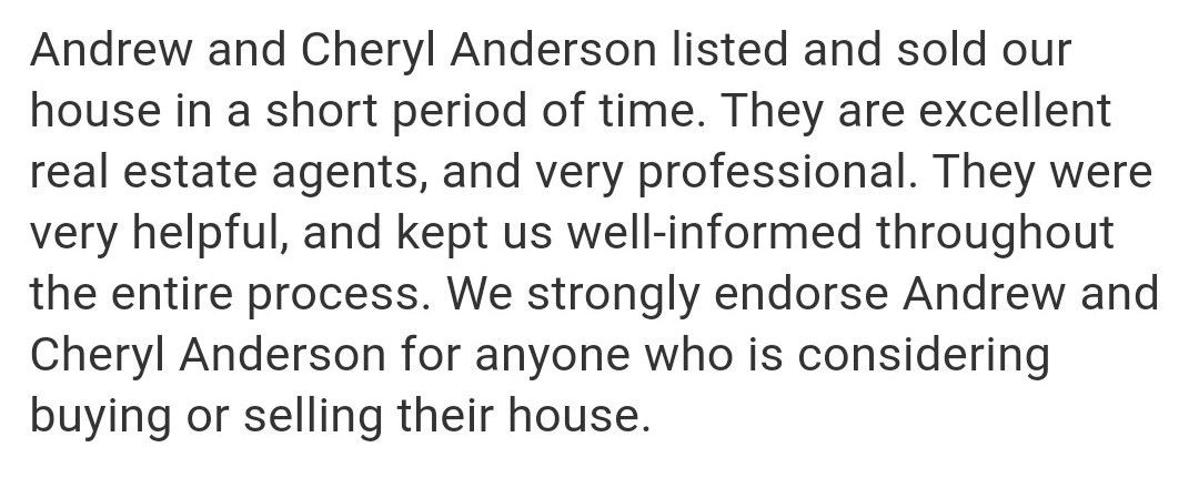 "{""blocks"":[{""key"":""a3i79"",""text"":""TeamAndersons: Seller asked that names be kept confidential. We are grateful for them both. Awesome to work with and very kind. We really do appreciate this family and pray their future is blessed!"",""type"":""unstyled"",""depth"":0,""inlineStyleRanges"":[],""entityRanges"":[],""data"":{}}],""entityMap"":{}}"
