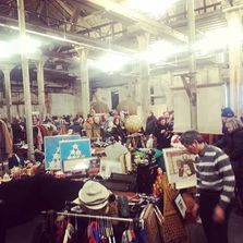 Leslieville Flea at the Fermenting Cellar, Distillery District