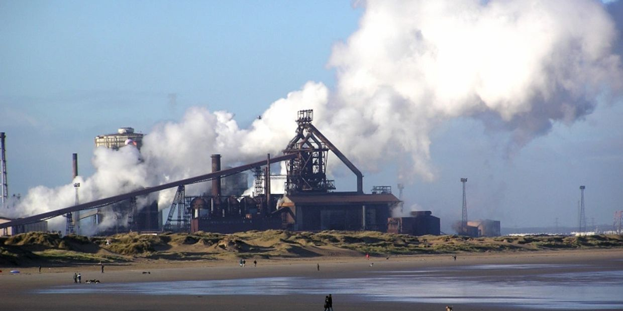 Middlesbrough and Redcar steelworks site