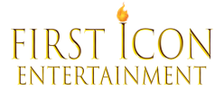 The official logo of First Icon Entertainment, a company of The First Icon Agency LLC