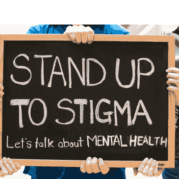 <p>pic on standing up for mental illness amid stigma</p>