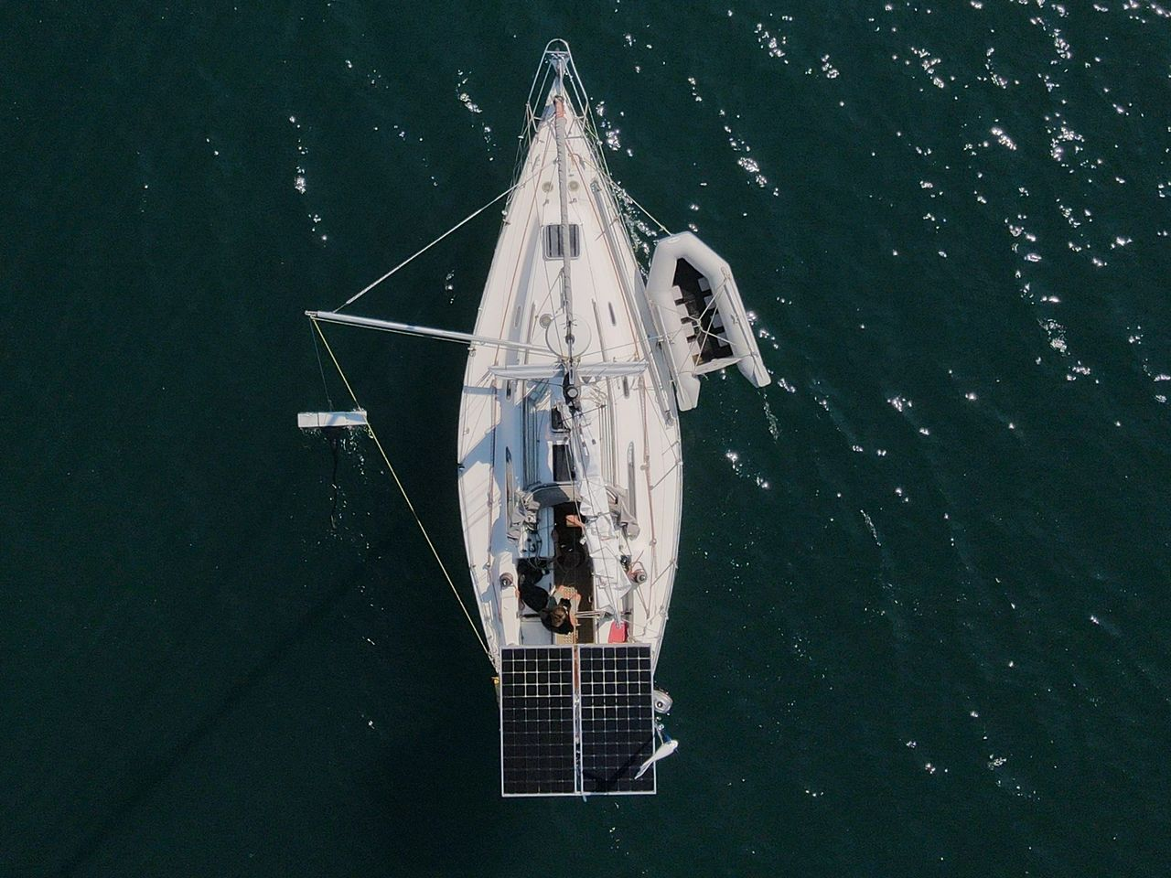 Microplastics surveying with SV Nazca - North Devon Marine project