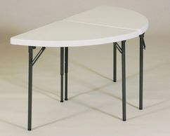 Half Moon Folding Table for sale