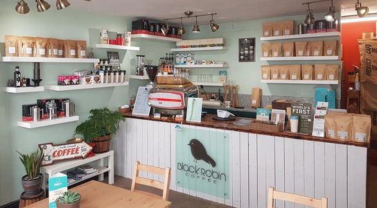 Black Robin coffee shop St Ives