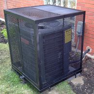 In-ground Air Conditioner  Protection Cage