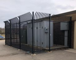 Large Steel Security Barrier