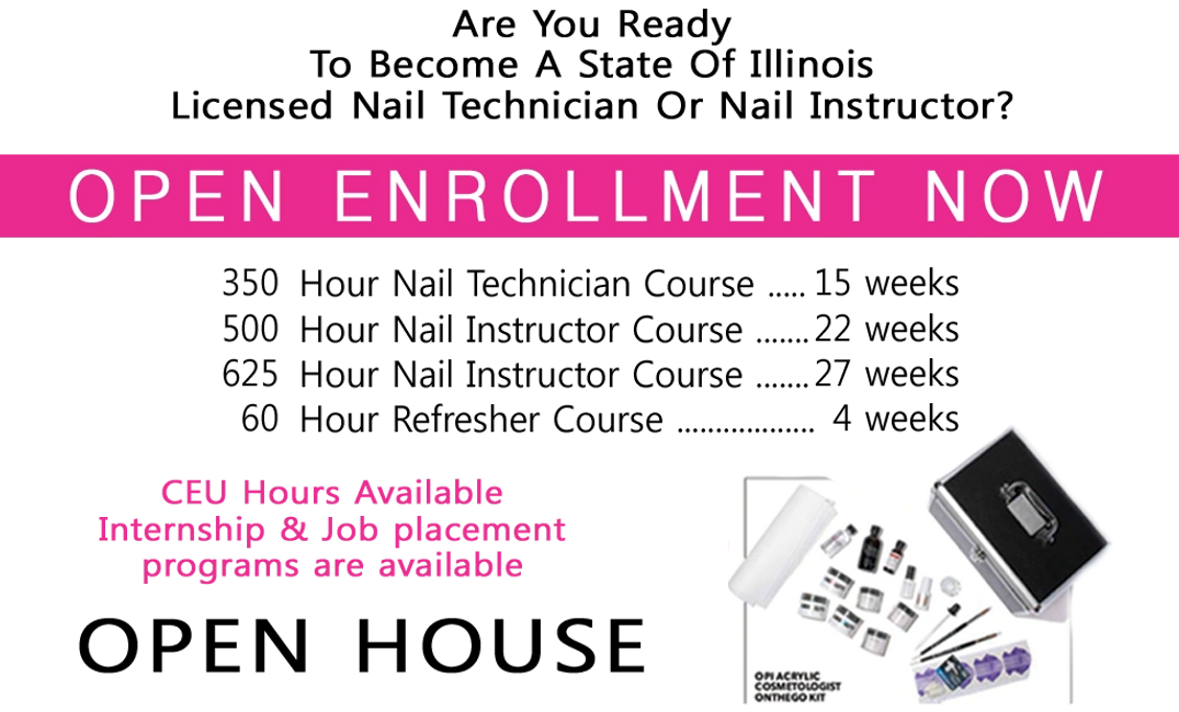 Are You Ready To Become A State Of Illinois Licensed Nail Technician Or Nail Instructor?