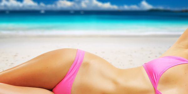 Get ready for the beach with a spray tan from Bluffton Bronze.