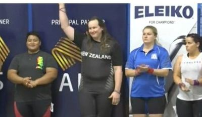 Laurel Hubbard transgender weightlifter looking to compete as a women in the 2020 Olympics
